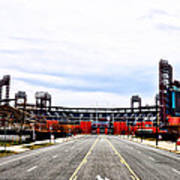 Phillies Stadium - Citizens Bank Park Print by Bill Cannon
