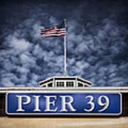 Pier 39 Print by Dave Bowman