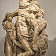 Pieta By Michelangelo Print by Melany Sarafis