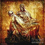 Pieta Via Dolorosa 13 Print by Lianne Schneider