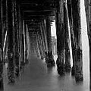 Pillars And Fog 2 Print by Paul Topp