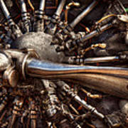 Pilot - Plane - Engines At The Ready  Print by Mike Savad
