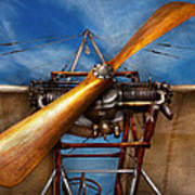 Pilot - Prop - They Don't Build Them Like This Anymore Print by Mike Savad