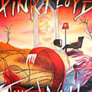 Pink Floyd The Wall Print by Joshua Morton