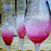 Pink Summer Print by Ben and Raisa Gertsberg