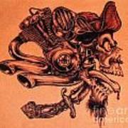 Pirate Print by Sean Ingram