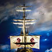 Pirates Print by Bob Orsillo