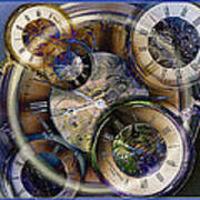 Pocketwatches Print by Steve Ohlsen