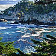 Point Lobos Print by Ron White