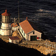 Point Reyes Lighthouse Print by Ron Sanford