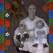 Polish Grandmother Print by Diana Perfect