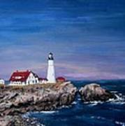 Portland Head Lighthouse Print by Jack Skinner