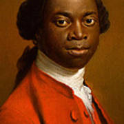 Portrait Of An African Print by Allan Ramsay