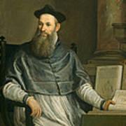 Portrait Of Daniele Barbaro Print by Paolo Caliari Veronese