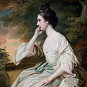 Portrait Of Miss Anne Dutton Print by Francis Cotes