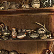 Pots And Things Print by William Fields