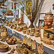 Pottery In La Borne Print by Oleg Koryagin