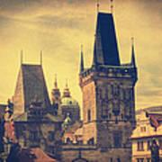Praha Print by Taylan Soyturk