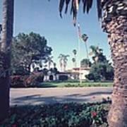 President Nixons Home In San Clemente Print by Everett
