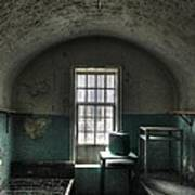 Prison Cell Print by Jane Linders