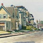 Prospect Street Print by Edward Hopper