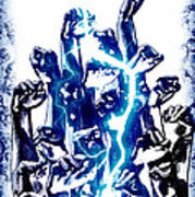 Protest The Power Print by Frederico Borges