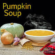 Pumpkin Soup Concept Print by Colin and Linda McKie
