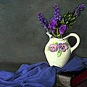 Purple Pardon Print by Diana Angstadt