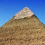 Pyramids Of Giza 15 Print by Antony McAulay