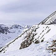 Quandary Peak Panorama Print by Aaron Spong