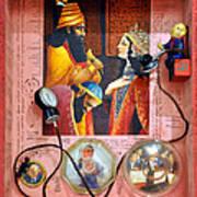 Queen Esther Print by Nekoda  Singer