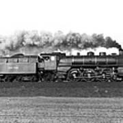 Queen Of Steam Print by Joachim Kraus