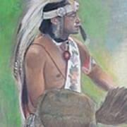 Wampanoag Dancer Print by Terri Ana Stokes