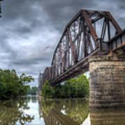 Railroad Bridge Print by James Barber