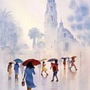 Rain Drops Print by John YATO