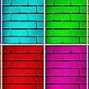 Rainbow Walls Print by Semmick Photo