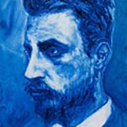 Rainer Maria Rilke Print by Sviatoslav Alexakhin