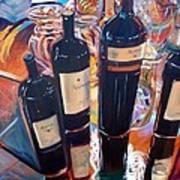 Raymond Vineyards Crystal Cellar Print by Donna Tuten