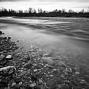 Restless River Print by Davorin Mance