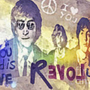 Revolution Print by Mo T