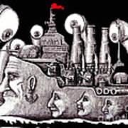 Revolutionary Ship Print by Vitaliy Gonikman