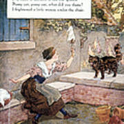 Richardson: Pussy Cat Print by Granger