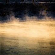 River Smoke Print by Bob Orsillo
