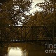Riveting Bridge Print by Customikes Fun Photography and Film Aka K Mikael Wallin