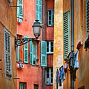 Riviera Alley Print by Inge Johnsson