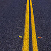 Road Stripe  Print by Garry Gay
