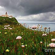 Roca Lighthouse Print by Carlos Caetano