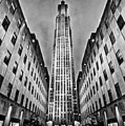 Rockefeller Centre Print by John Farnan