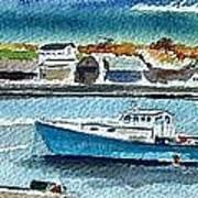 Rockport Harbor Print by Scott Nelson