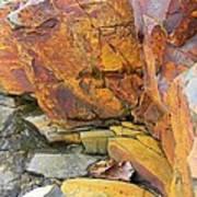 Rocks1 Print by Katina Cote